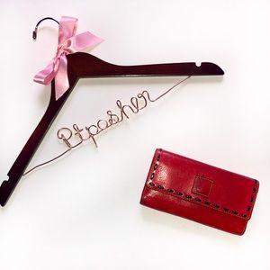 Dooney & Bourke Florentine Red Leather Wallet